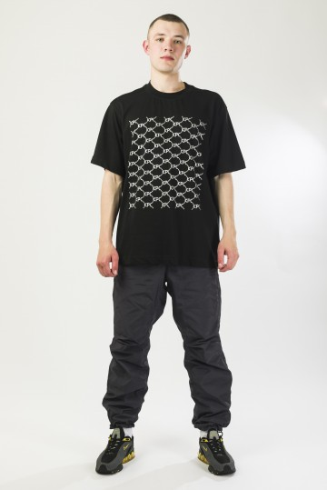 Футболка T-Shirt Crucci Pattern Черный