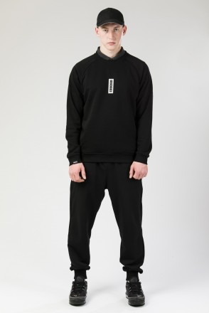 Firm Summer Crew-neck 90`s Reflections Box Black
