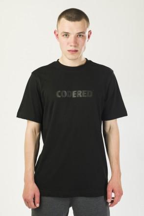 Футболка Regular Logo R Черный/Принт CODERED Черный