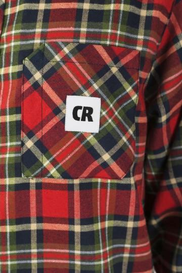 Рубашка Harbor Slim Синий чернильный/Красный/Зеленый полевой/Бежевый