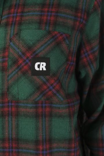 Рубашка Harbor Slim Зеленый лесной/Красный винтаж/Черный/Синий