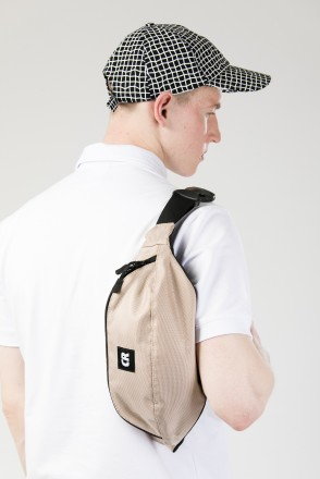 Сумка поясная Hip Bag Large Бежевый