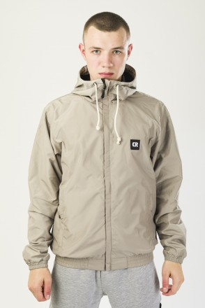 Break Windbreaker Gray-Beige