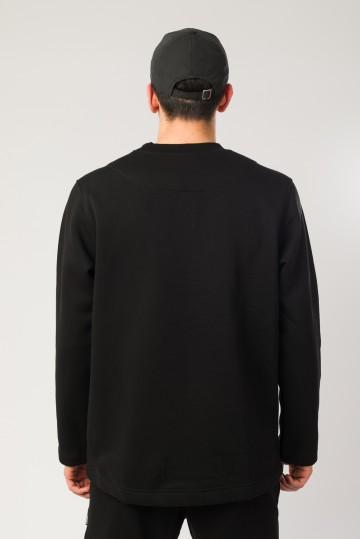 Толстовка Sleeve Черный Smooth Dazzle Pattern