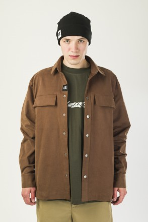 Heavy Shirt Brown