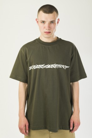 T-Shirt Blaster Font Bog Green