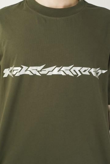 Футболка T-Shirt Blaster Font Болотный
