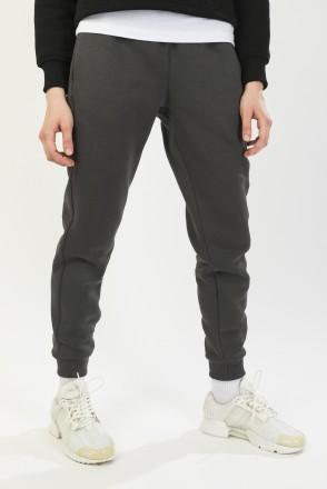 Basic Lady Pants Dark Gray