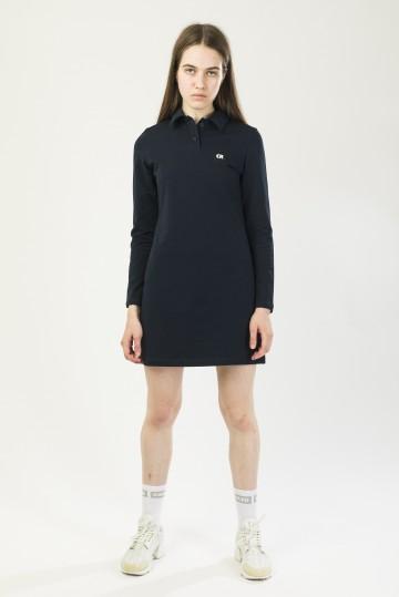 Платье-поло женское с длинным рукавом Adress Неви