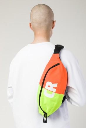 Hip Bag Large Flur Lemon/ Orange