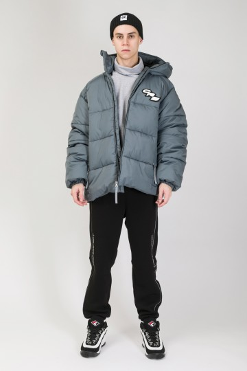 Puffed Jacket Dark Gray