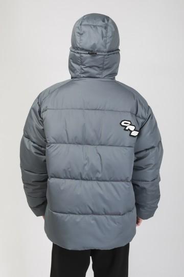 Куртка Puffed Серый Темный