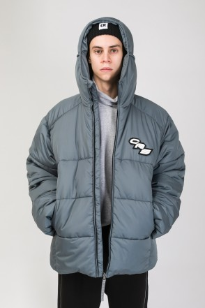 Puffed Jacket Dark Gray