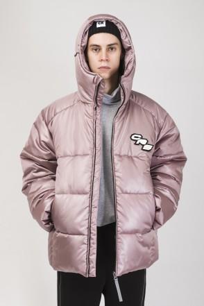 Куртка Puffed Медно-розовый