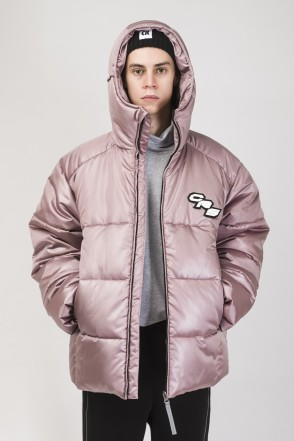 Puffed Jacket Copper-pink