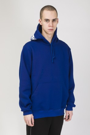 Hood Up Hoodie Cornflower Blue Letter Kit