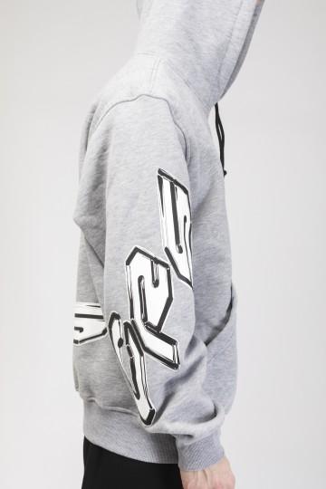 Толстовка Hood Up Серый меланж CRS 2000