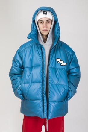 Куртка Puffed Морская волна