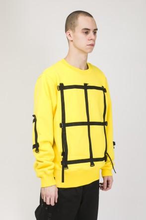Mesh Strap COR Crew-neck Yellow