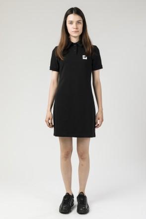 Платье с коротким рукавом Adress Черный