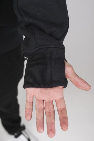 Толстовка WSL COR Черный Теплый