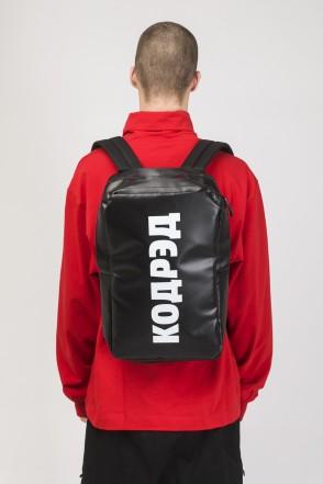 Brick Slim Backpack Black Teza