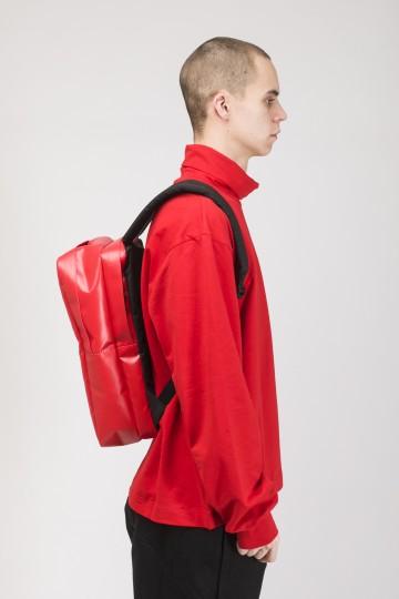 Рюкзак Brick Slim Красная Теза