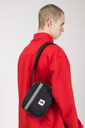 Code A5 Bag Black Taslan