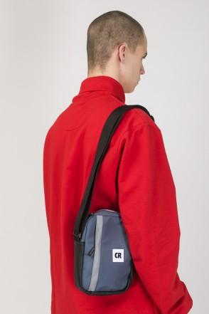 Code A5 Bag Dark Gray Taslan
