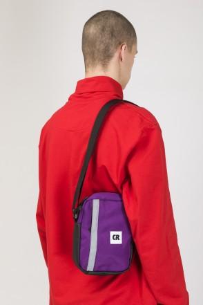 Code A5 Bag Violet Taslan