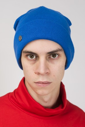 Snap Mix Hat Cornflower Blue