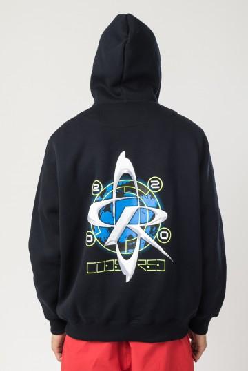 Толстовка Base Hoodie Wide Синий Чернильный CRorbital