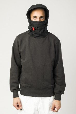 Shinobi COR Hoodie Warm Black/Black