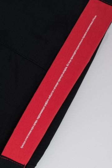 Шорты Two Blocks Черный/Красный