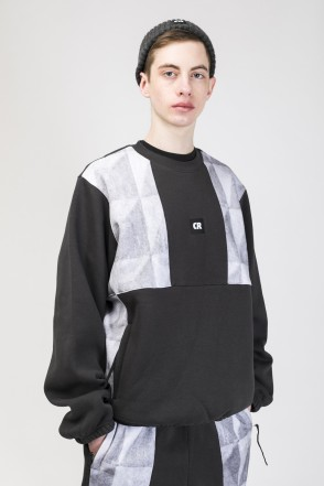 Panels Crew Crew-neck Dark Gray