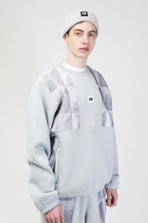 Panels Crew Crew-neck Ash Gray