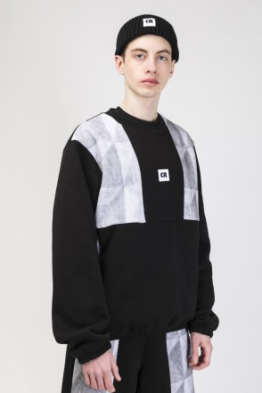 Panels Crew Crew-neck Black