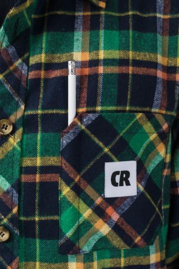 Рубашка Harbor Slim Зеленый яркий/ Синий чернильный/ Оранжевый/ Горчичный