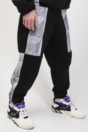 Panels Pants Black