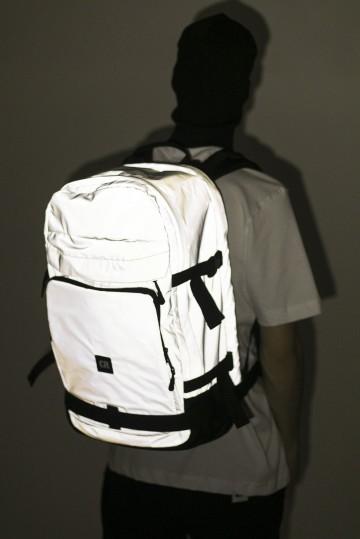 Рюкзак Tour Серый Светоотражающий/Черный Кожзам