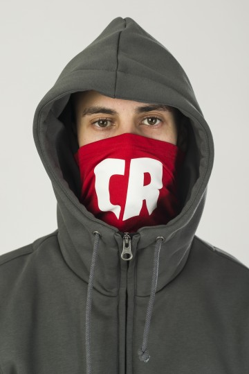 The Mask CR Hoodie Gray