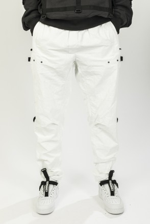 Штаны L-Shape Pants COR Белый глянцевый