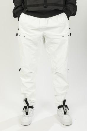 L-Shape Pants COR White Glossy