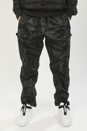 L-Shape Pants COR Black Glossy