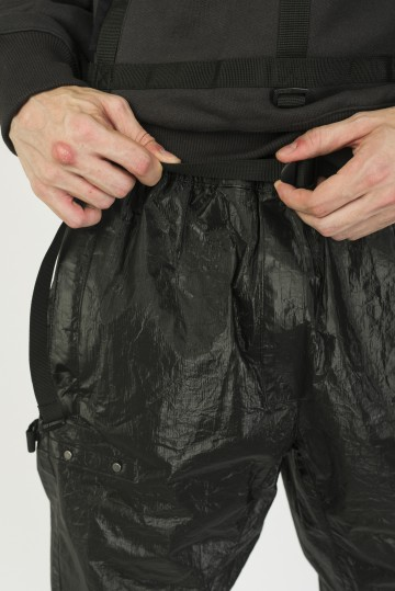 Штаны L-Shape Pants COR Черный Глянцевый