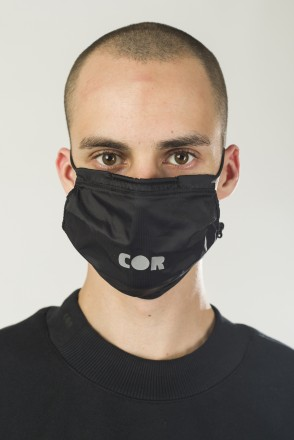 F-MSK COR Mask Black