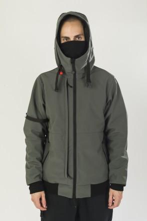 Get High 4 COR Jacket Bog Gray