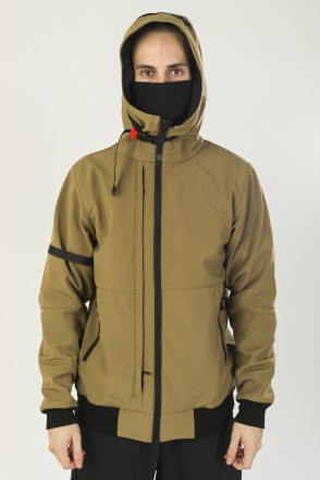 Get High 4 COR Jacket Khaki