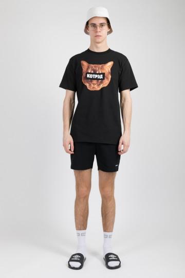 Regular КОТРЭД T-shirt Black