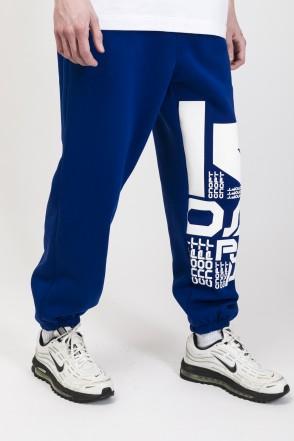 Trainer Pants Cornflower Blue Letter Kit